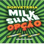 Logotipo Milk Shake Opção