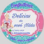 Logotipo Delícias da Vovó Nilda Doces & Salgados