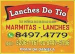 Logotipo Lanches do Tio