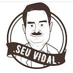 Logotipo Seu Vidal na Praia