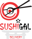 Logotipo Sushigal Delivery