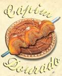 Logotipo Churrascaria Capim Dourado