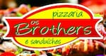 Logotipo Os Brothers Pizzaria e Sanduíches