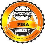Logotipo Pira Burger's Hambúrgueria
