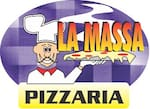 Logotipo La Massa Pizzaria Delivery