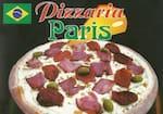Logotipo Pizzaria Paris