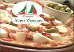 Logotipo Pizzaria Nova Veneza